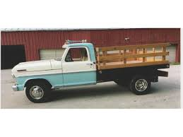 1967 Ford 1 Ton Flatbed Dump Truck For Sale | ClassicCars.com | CC ... Awesome 2000 Ford F250 Flatbed Dump Truck Freightliner Flatbed Dump Truck For Sale 1238 Keven Moore Old Dump Truck Is Missing No More Thanks To Power Of 2002 Lvo Vhd 133254 1988 Mack Scissors Lift 2005 Gmc C8500 24 With Hendrickson Suspension Steeland Alinum Body Welding And Metal Fabrication Used Ford F650 In 91052 Used Trucks Fresno Ca Bodies For Sale Lucky Collector Car Auctions Lot 508 1950 Chevrolet