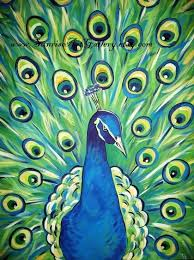 Green Peacock Art Print 11x14 By PeacocksGallery On Etsy 2200