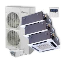 Mini Split Ceiling Cassette Air Conditioner by Series 3 Ceiling Cassette Indoor Ductless Split Units And 52 900