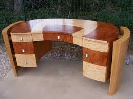 bureau contemporain bois massif oeuvres