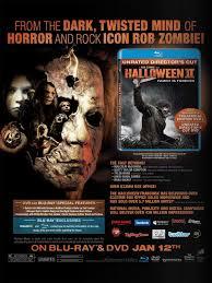 Halloween Ii 2009 Cast by Rob Zombie U0027s Halloween 2 Dvd Artwork U0026 Sales Ad U2014 Geektyrant
