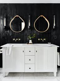 20 stunning black and white bathrooms that will never go out
