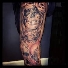 Celebrity Sleeve Tattoos Leg
