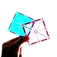 magna tiles clear colors 32 pc set sense