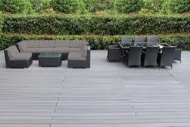 Outdoor Sectional Sofa Set by Genuine 16 Piece Ohana Wicker Patio Furniture Set Outdoor
