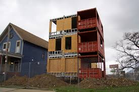 100 House Built Out Of Shipping Containers Apartments Built Out Of Shipping Containers Springing Up In Detroit