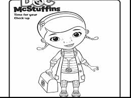 Fantastic Doc Mcstuffins Coloring Pages With Mcstuffin And Pdf