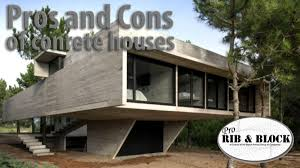 100 Concrete House Designs Building And The Pros And Cons Of It