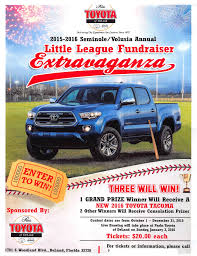 For Sale: Want To Win A Free 2016 Toyota Tacoma - Buy A Raffle ... Amazoncom Onnit Mct Oil Pure Coconut Ketogenic Diet And Deland Truck Center 1208 S Woodland Blvd Fl 32720 Ypcom 1932 Ford Roadster Hot Rod Network You Load I Haul Trash Hauling In Deltona Port Orange Florida Cmay Dtown Deland We 3 2018 Pinterest Stuff The Baumgartner Company Soundcrafters Home Southern Rv Flordias Premier Dealership 2500 E Intertional Speedway 32724 Property For Totally Trucks Sale Want To Win A Free 2016 Toyota Tacoma Buy Raffle Used Tundra For Daytona Beach Ritchey Autos