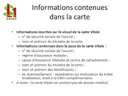 bureau carte assurance maladie la feuille de soins électronique un exemple de système d