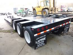 100 Lapine Truck Sales 2015 WITZCO RG50 TRI AXLE GROUND BEARING LOWBOY TRAILER
