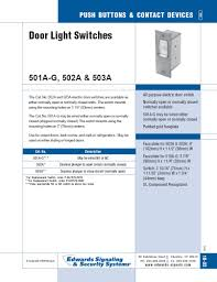 Dazor Lamp Wiring Diagram by 502a Door Light Switch 120v Edwards West Side Electric