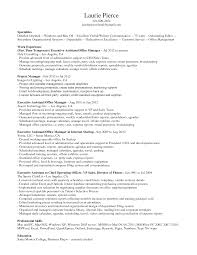 Front Desk Resume Job Description by Senior Administrative Assistant Resume Resumecompanioncom Resume