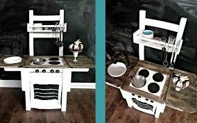 ein ikea stuhl umfunktioniert zur kinder küche küche
