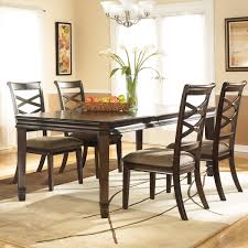 Signature Design By Ashley X27Hayleyx27 Dark Brown Dining Room