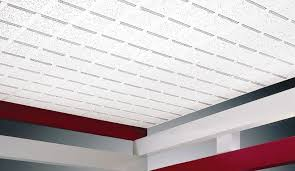 mineral fiber suspended ceiling panel acoustic baroque