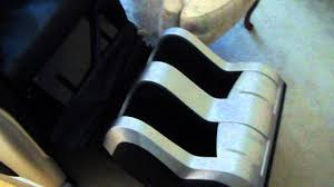 Cozzia Massage Chair 16027 by Broken Massage Chair Youtube
