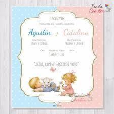 Imágenes De Invitaciones Para Baby Shower Gemelos Gratis
