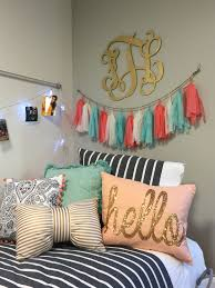 Styled Up A Dorm Room At SFASU This Weekend Bedding Is Kate Spade With Random