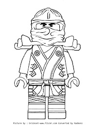 Free Coloring Pages Of Kai Ninja Red