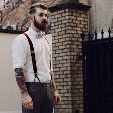 Mens Vintage Look With Accessories