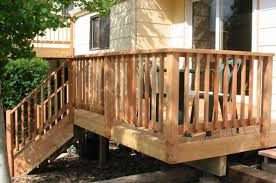 Wood Deck Railing Design   Deck   Pinterest   Wood Deck Railing ... Best 25 Deck Railings Ideas On Pinterest Outdoor Stairs 7 Best Images Cable Railing Decking And Fiberon Com Railing Gate 29 Cottage Deck Banister Cap Near The House Banquette Diy Wood Ideas Doherty Durability Of Fencing Beautiful Rail For And Indoors 126 Dock Stairs 21 Metal Rustic Title Rustic Brown Wood Decks 9
