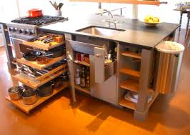 Instead Of Lining Up Everything Galley Style Try Opening The Room And Putting All Necessities In A Compact One Island