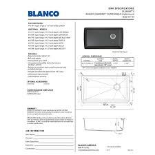 Blanco Silgranit Sinks Colors by Blanco 441765 Diamond Truffle Undermount Single Bowl Kitchen Sinks