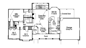 Wide House Plans by Foxridge Country Ranch Home Plan 007d 0136 House Plans And More