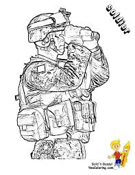 Army Soldier Coloring Page You Can Print Out This