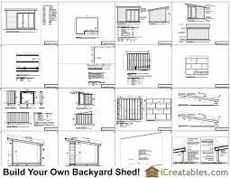 12x16 modern shed plans build your backyard office space
