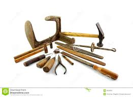 Old Tools Clipart