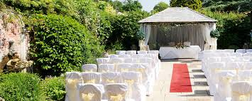 Outdoor Weddings 124 Careys Manor Hotel