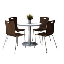 36'' Round Crisp Linen Laminate Table Set With Espresso Finish Bentwood  Cafe Chairs - Seats 4 Simplicity 54 Counter Height Ding Table In Espresso Finish By Jofran Baxton Studio Sylvia Modern And Contemporary Brown Four Hands Kensington Collection Carter Chair Lanier Gray Fabric Michelle 2pack 64175 Pedestal Set Chateau De Ville Acme Whosale Chairs Room Fniture Napa Cheap Dark Wood Find Willa Arlo Interiors Sture Link Print Upholstered Safavieh Becca Grey Zebra Cottonlinen Mcr4502n