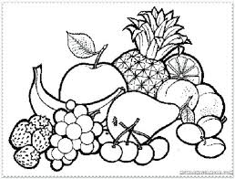 Enchanting Coloring Pages Of Fruit Baskets Kjv The Spirit Kindness Goodness Page