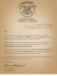 Harry Potter Theme Classroom Hogwarts Acceptance Letter