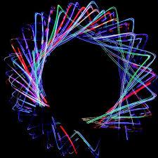 4 Light Rainbow LED Orbital