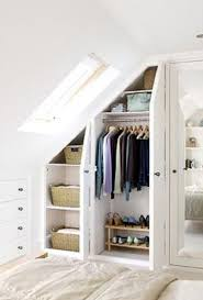 Built In Wardrobes Design For Small Bedroom And Chest Of Drawers An Attic Room