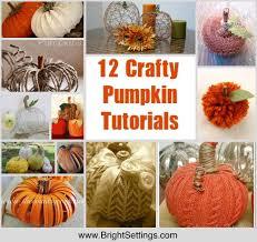 Dryer Vent Pumpkins Tutorial by Crafty Pumpkin Tutorials The Bright Ideas Blog