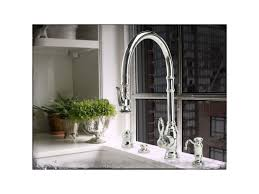 Rohl Unlacquered Brass Faucet by Faucet Com 5600 Pn In Polished Nickel By Waterstone