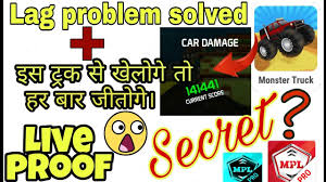 100 Trick My Truck Games Secret TRICK How To Solve Lag Problem In Monster Truck Game In MPL
