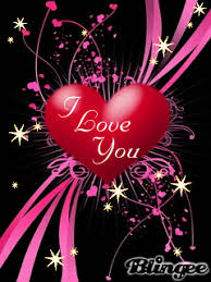 Animated I Love You Heart And Star Cell Phone Wallpapers Mobile Graphics