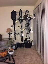 Rubbermaid Medium Vertical Storage Shed by Bikes Diy Hanging Bike Rack Vertical Bike Rack Flat Against Wall