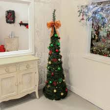 Pre Lit Pop Up Christmas Tree Uk by Buy Cheap Prelit Christmas Tree Compare House Decorations Prices