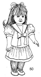 Zresim Baby Doll Coloring Pages 4036