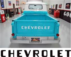 1955-87 STEPSIDE CHEVY CHEVROLET PICKUP TRUCK TAILGATE LETTERS ... Black Trucks Matter Tailgate Decal Sticker 4x4 Diesel Truck Suv Small Get Lettered Up White 7279 Ford Pickup Fleetside Ranger Vinyl Compact Realtree Max5 Camo Graphic Camouflage Decals Sierra Midway 2014 2015 2016 2017 2018 Gmc Sierra Dodge Ram Rage Power Wagon Style Bed Striping F150 Center Stripe 15 Center Hood Racing Stripes Rattlesnake Xtreme Digital Graphix Tacoma Afm Graphics 62018 Chevy Silverado 3m