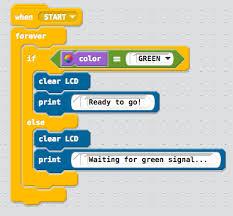 Modkit Basic Color Sensor Programming