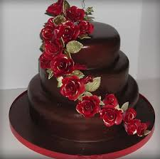 Exclusive Chocolate Cake & Flowers For Birthday 2016