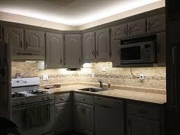 kitchen led lights cabinet home design