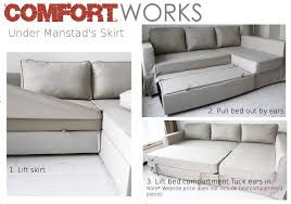 Ikea Manstad Sofa Bed Cover by Manstad Sofa Bed Centerfordemocracy Org